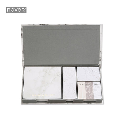 Marble Sticky Notes Set