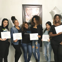 jenoir lynne minks lash mink lashes training class beauty school course microblading brows microshading students instructor teacher atlant dc miami nashville charlotte la houston new orleans chicago richmond