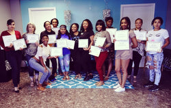 minks group class training course private session beauty school financing black owned