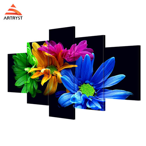 Wall Art Printed Canvas with frame HD Picutre for Home Wall Decoration FLR013