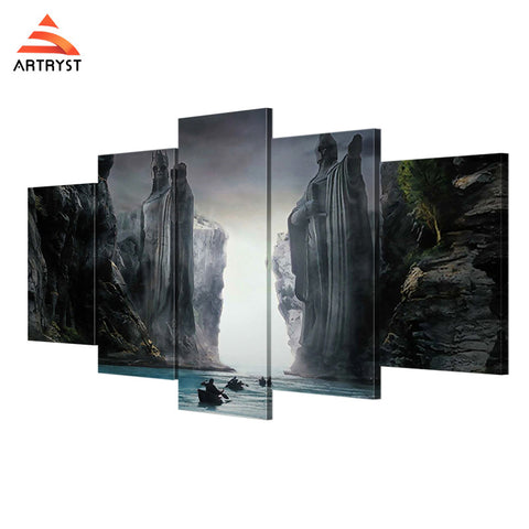 Wall Art Printed Canvas with frame HD Picutre for Home Wall Decoration AMV010
