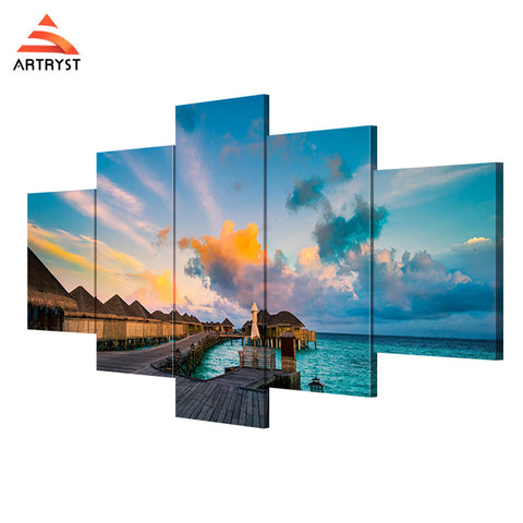 Framed Canvas Print Art Painting HD Picture for Home Wall Decoration ATRS016