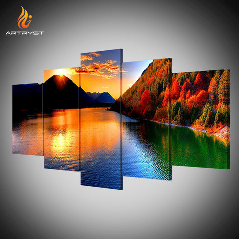Framed Canvas Print Art Painting HD Picture for Home Wall Decoration ATRS027