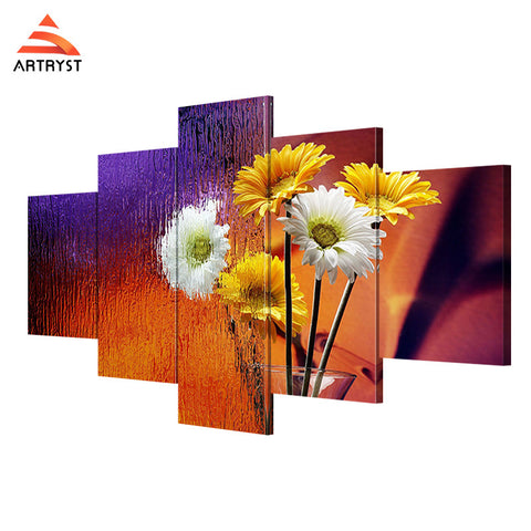Wall Art Printed Canvas with frame HD Picutre for Home Wall Decoration FLR005