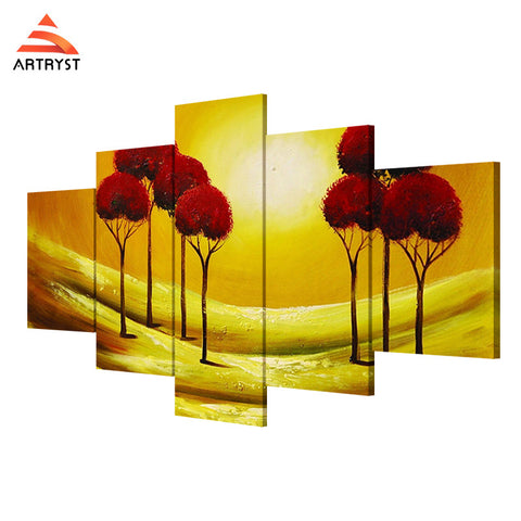 Wall Art Printed Canvas with frame HD Picutre for Home Wall Decoration FLR007