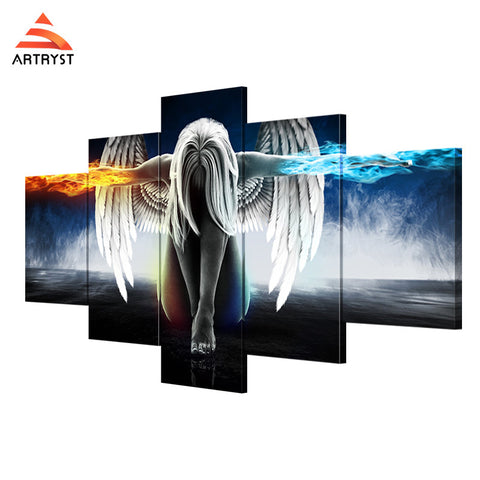 Wall Art Printed Canvas with frame HD Picutre for Home Wall Decoration AMV003