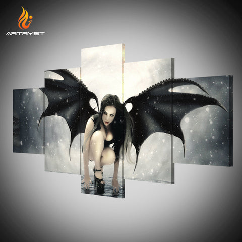 Wall Art Printed Canvas with frame HD Picutre for Home Wall Decoration AMV001
