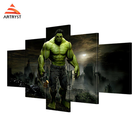 Wall Art Printed Canvas with frame HD Picutre for Home Wall Decoration AMV011