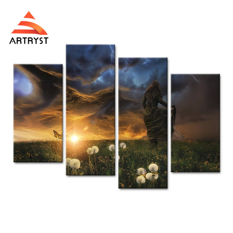 Framed Canvas Print Art Painting HD Picture for Home Wall Decoration RGC005