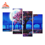 Framed Canvas Print Art Painting HD Picture for Home Wall Decoration RGC022
