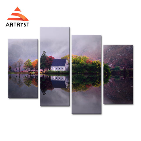 Framed Canvas Print Art Painting HD Picture for Home Wall Decoration WJF005