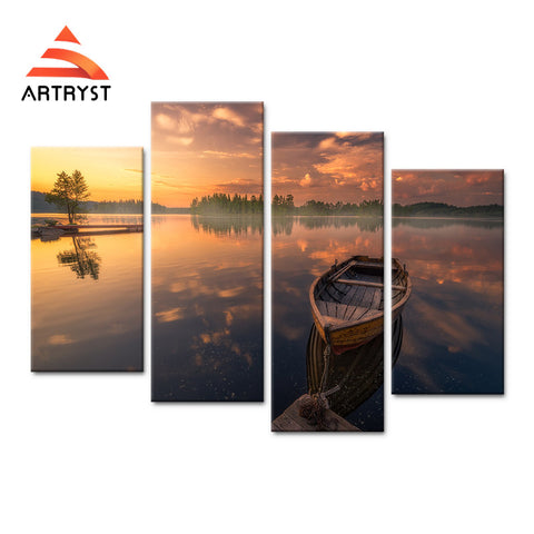 Framed Canvas Print Art Painting HD Picture for Home Wall Decoration WJF008