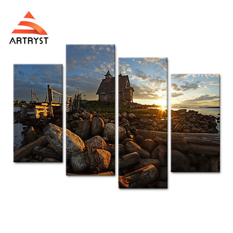 Framed Canvas Print Art Painting HD Picture for Home Wall Decoration WJF011