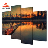 Framed Canvas Print Art Painting HD Picture for Home Wall Decoration WJF018