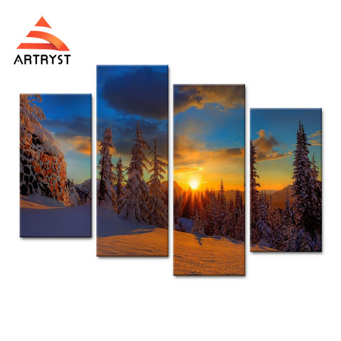 Framed Canvas Print Art Painting HD Picture for Home Wall Decoration WJF022