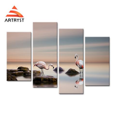 Framed Canvas Print Art Painting HD Picture for Home Wall Decoration WJF025