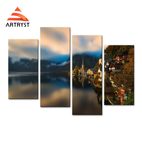 Framed Canvas Print Art Painting HD Picture for Home Wall Decoration WJF034