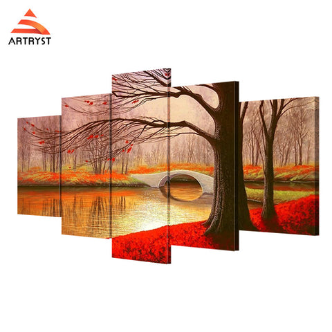 Framed Canvas Print Art Painting HD Picture for Home Wall Decoration ATRS045