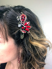 Glam Holiday Hair