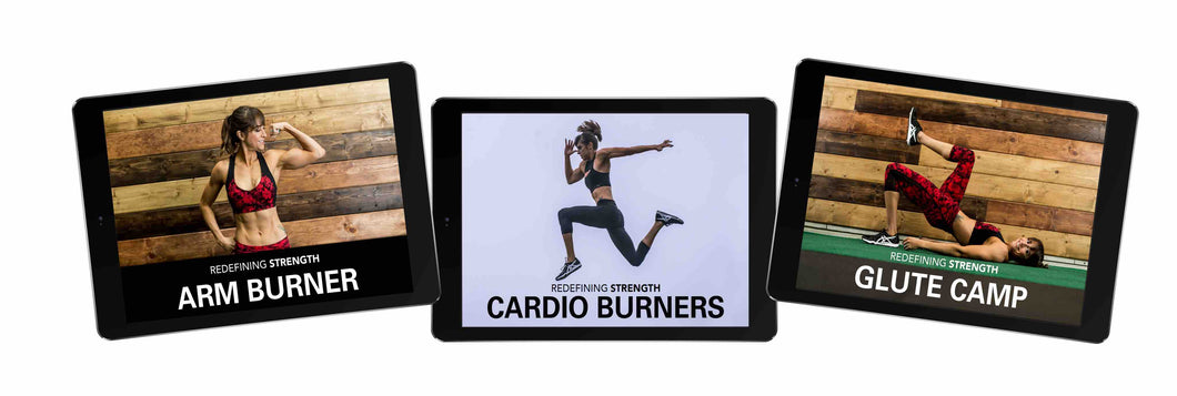 The Card Pack - Cardio Burners, Arm Burners And Glute Camp