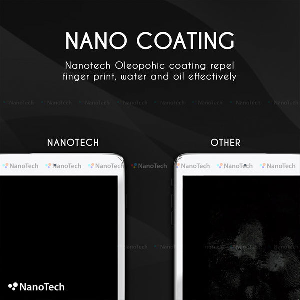 NanoTech® HD Full Tempered Glass for Samsung Tab