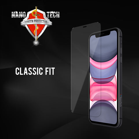 NanoTech® Classic Fit Tempered Glass For Apple iPhone