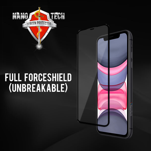 NanoTech® Full ForceShield Screen Protector for Apple iPhone