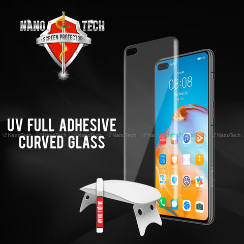 NanoTech®UV Full Adhesive Curved Glass for Huawei
