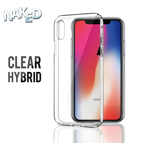 Clear Hybrid Phone Case for Apple iPhone