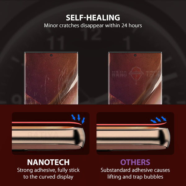 NanoTech® HD Hydrogel Film Protector for Samsung