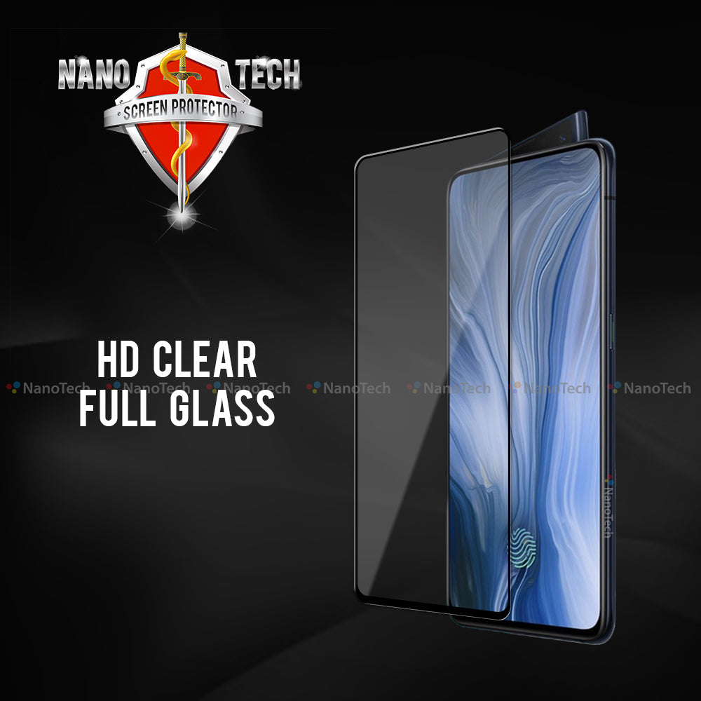 NanoTech® Full HD Clear Tempered Glass for Oppo