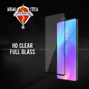 NanoTech® HD Full Tempered Glass for Xiaomi