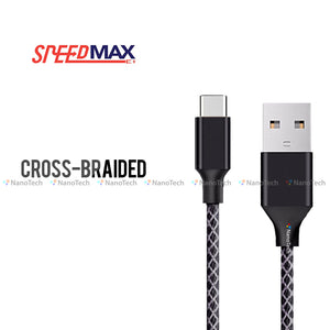 SpeedMax Cross-Braided Cable (100cm)