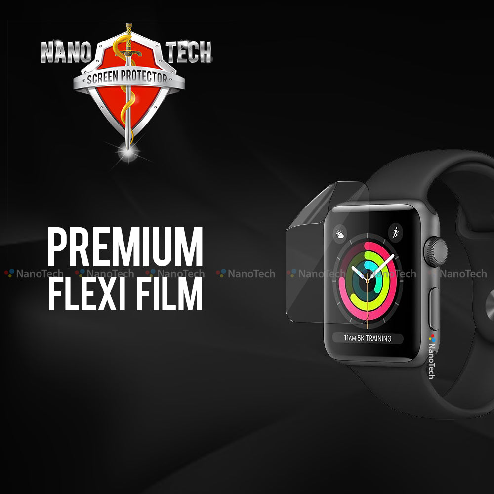 NanoTech® Premium Film Screen Protector for Apple Watch Series 5/4/3/2/1