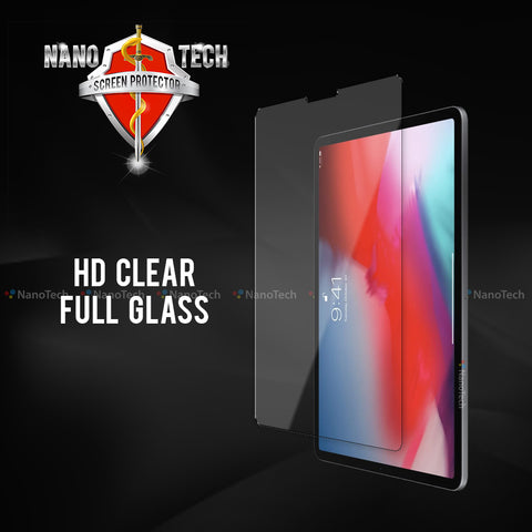 NanoTech® HD Full Tempered Glass for Apple iPad