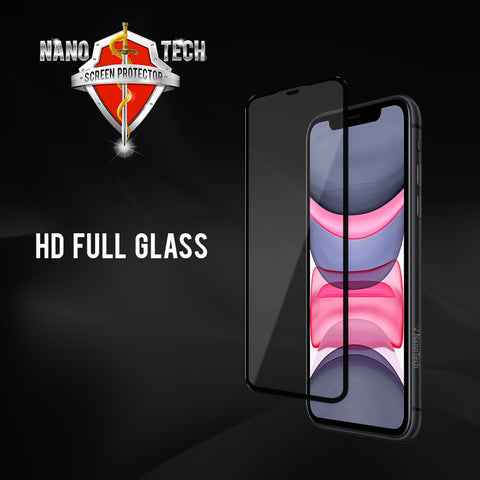 NanoTech® HD Full Tempered Glass for Apple iPhone