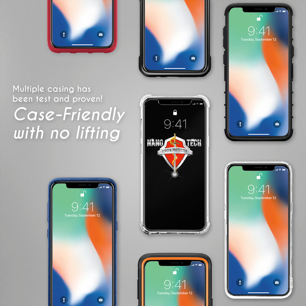 Nanotech Forceshield Screen Protector Smartphone Nanotechsg Healing Shield Curved Fit For Iphone 7 Plus Matte