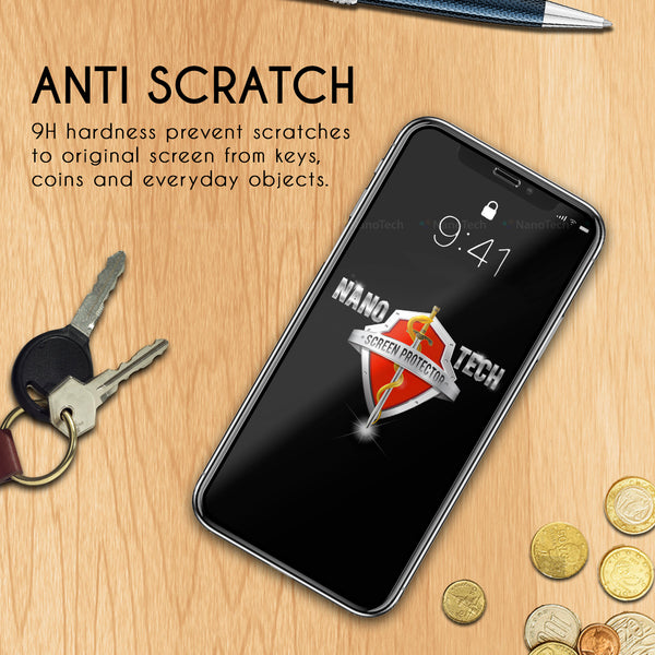 NanoTech® 3D FUSION Glass Screen Protector for Apple iPhone