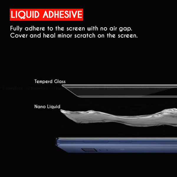 NanoTech®UV Full Adhesive Curved Glass Clear for Huawei