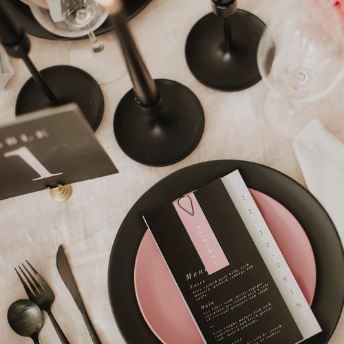 MINIMALIST SAVE THE DATE GREY