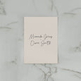 SIMPLICITY WEDDING INVITE SET NATURAL