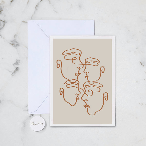 IMPERFECTLY IMPERFECT GREETING CARD
