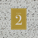 INITIAL TABLE NUMBER MUSTARD