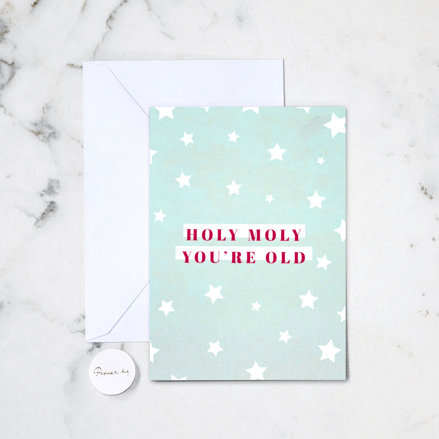 HOLY MOLY GREETING CARD