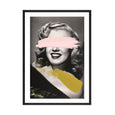 PAINTED MARILYN PRINT
