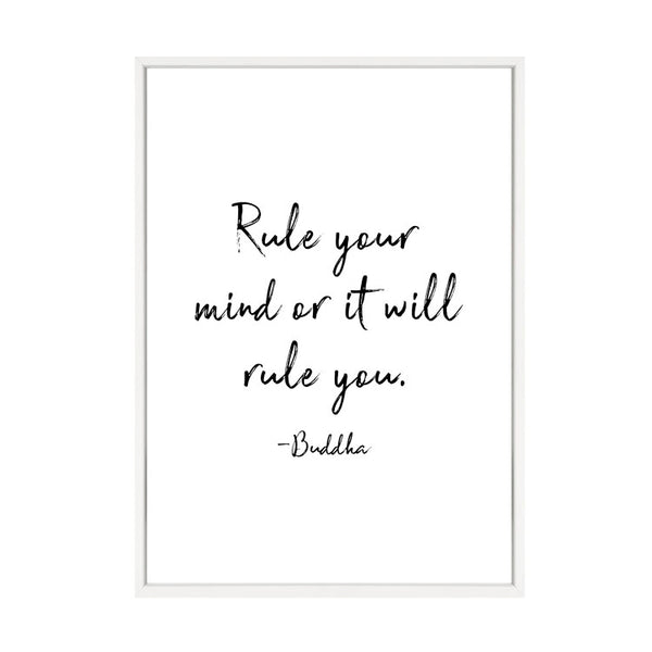 RULE YOUR MIND PRINT