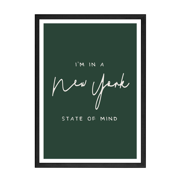 STATE OF MIND PRINT