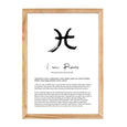 PISCES STAR SIGN PRINT