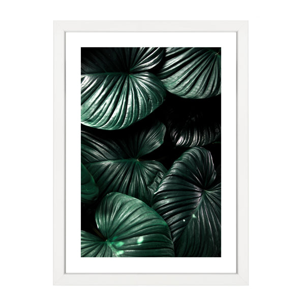 MOODY PALM LEAVES PRINT