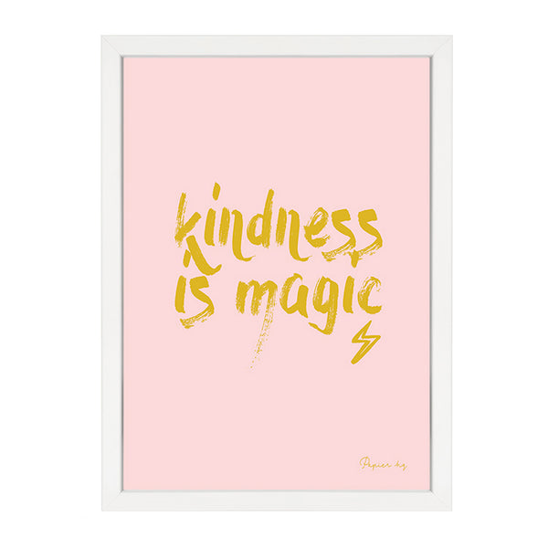 KINDNESS IS MAGIC PINK